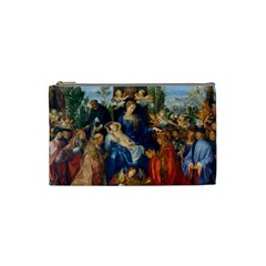 Feast Of The Rosary   Albrecht D¨1rer Cosmetic Bag (small)