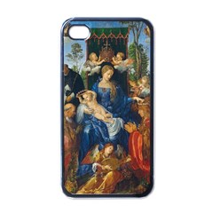 Feast Of The Rosary   Albrecht D¨1rer Apple Iphone 4 Case (black)