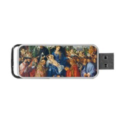 Feast Of The Rosary   Albrecht D¨1rer Portable Usb Flash (two Sides)
