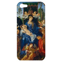 Feast Of The Rosary   Albrecht D¨1rer Apple Iphone 5 Hardshell Case
