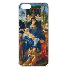 Feast Of The Rosary   Albrecht D¨1rer Apple Iphone 5 Seamless Case (white)