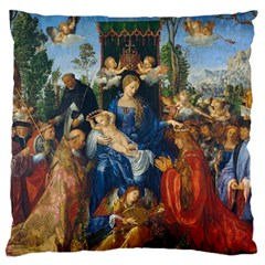 Feast Of The Rosary   Albrecht D¨1rer Standard Flano Cushion Case (one Side)