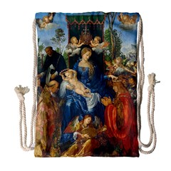 Feast Of The Rosary   Albrecht D¨1rer Drawstring Bag (large)