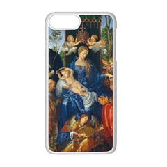 Feast Of The Rosary   Albrecht D¨1rer Apple Iphone 8 Plus Seamless Case (white)