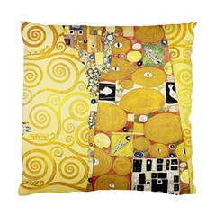 The Embrace   Gustav Klimt Standard Cushion Case (one Side)