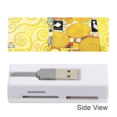 The Embrace   Gustav Klimt Memory Card Reader (stick)  by Valentinaart