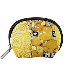 The Embrace   Gustav Klimt Accessory Pouches (small)