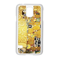The Embrace   Gustav Klimt Samsung Galaxy S5 Case (white)