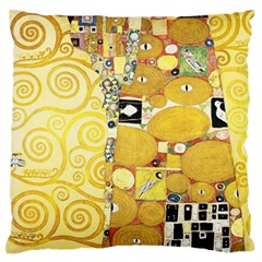 The Embrace   Gustav Klimt Standard Flano Cushion Case (one Side)