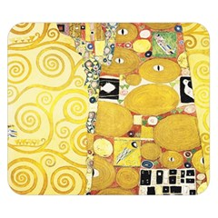 The Embrace   Gustav Klimt Double Sided Flano Blanket (small)