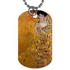 Adele Bloch Bauer I   Gustav Klimt Dog Tag (one Side)