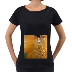 Adele Bloch Bauer I   Gustav Klimt Women s Loose Fit T Shirt (black)