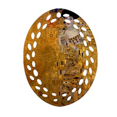 Adele Bloch Bauer I   Gustav Klimt Ornament (oval Filigree) by Valentinaart