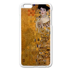 Adele Bloch Bauer I   Gustav Klimt Apple Iphone 6 Plus/6s Plus Enamel White Case