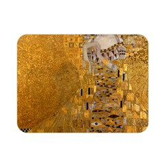Adele Bloch Bauer I   Gustav Klimt Double Sided Flano Blanket (mini)  by Valentinaart