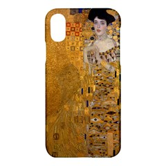 Adele Bloch Bauer I   Gustav Klimt Apple Iphone X Hardshell Case by Valentinaart