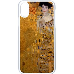 Adele Bloch Bauer I   Gustav Klimt Apple Iphone X Seamless Case (white)