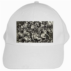 Four Horsemen Of The Apocalypse   Albrecht D¨1rer White Cap
