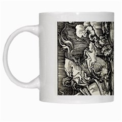 Four Horsemen Of The Apocalypse   Albrecht D¨1rer White Mugs