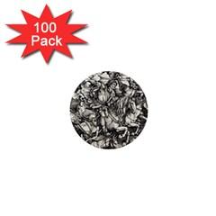 Four Horsemen Of The Apocalypse   Albrecht D¨1rer 1  Mini Buttons (100 Pack)