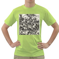 Four Horsemen Of The Apocalypse   Albrecht D¨1rer Green T Shirt