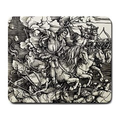 Four Horsemen Of The Apocalypse   Albrecht D¨1rer Large Mousepads