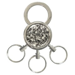 Four Horsemen Of The Apocalypse   Albrecht D¨1rer 3 Ring Key Chains