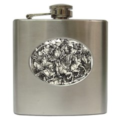Four Horsemen Of The Apocalypse   Albrecht D¨1rer Hip Flask (6 Oz)