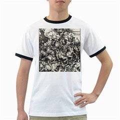 Four Horsemen Of The Apocalypse   Albrecht D¨1rer Ringer T Shirts