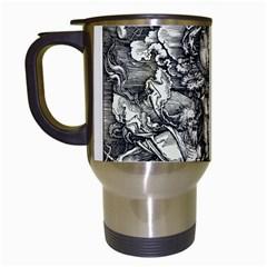 Four Horsemen Of The Apocalypse   Albrecht D¨1rer Travel Mugs (white)