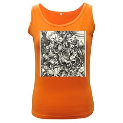 Four Horsemen Of The Apocalypse   Albrecht D¨1rer Women s Dark Tank Top