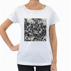 Four Horsemen Of The Apocalypse   Albrecht D¨1rer Women s Loose Fit T Shirt (white)