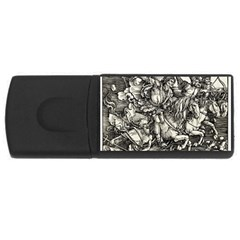 Four Horsemen Of The Apocalypse   Albrecht D¨1rer Rectangular Usb Flash Drive