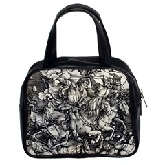 Four Horsemen Of The Apocalypse   Albrecht D¨1rer Classic Handbags (2 Sides)