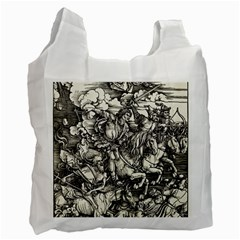 Four Horsemen Of The Apocalypse   Albrecht D¨1rer Recycle Bag (two Side)