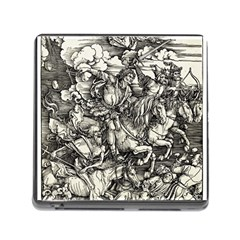 Four Horsemen Of The Apocalypse   Albrecht D¨1rer Memory Card Reader (square) by Valentinaart