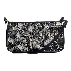 Four Horsemen Of The Apocalypse   Albrecht D¨1rer Shoulder Clutch Bags
