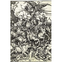 Four Horsemen Of The Apocalypse   Albrecht D¨1rer 5 5  X 8 5  Notebooks