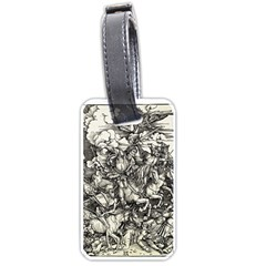 Four Horsemen Of The Apocalypse   Albrecht D¨1rer Luggage Tags (one Side)