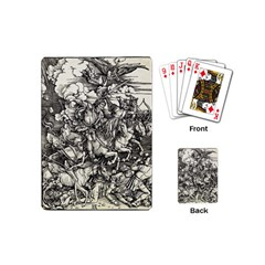 Four Horsemen Of The Apocalypse   Albrecht D¨1rer Playing Cards (mini)