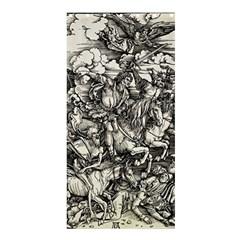 Four Horsemen Of The Apocalypse   Albrecht D¨1rer Shower Curtain 36  X 72  (stall)