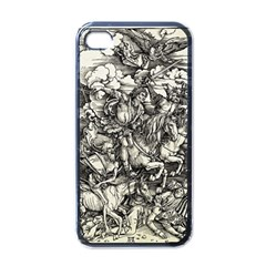 Four Horsemen Of The Apocalypse   Albrecht D¨1rer Apple Iphone 4 Case (black)