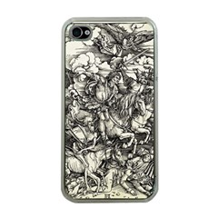 Four Horsemen Of The Apocalypse   Albrecht D¨1rer Apple Iphone 4 Case (clear)