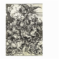 Four Horsemen Of The Apocalypse   Albrecht D¨1rer Small Garden Flag (two Sides)