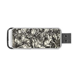 Four Horsemen Of The Apocalypse   Albrecht D¨1rer Portable Usb Flash (one Side)