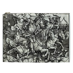 Four Horsemen Of The Apocalypse   Albrecht D¨1rer Cosmetic Bag (xxl)