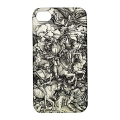 Four Horsemen Of The Apocalypse   Albrecht D¨1rer Apple Iphone 4/4s Hardshell Case With Stand