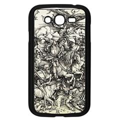 Four Horsemen Of The Apocalypse   Albrecht Dürer Samsung Galaxy Grand Duos I9082 Case (black) by Valentinaart