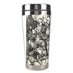 Four Horsemen Of The Apocalypse   Albrecht D¨1rer Stainless Steel Travel Tumblers