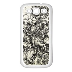 Four Horsemen Of The Apocalypse   Albrecht D¨1rer Samsung Galaxy S3 Back Case (white)